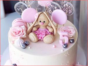 Детский торт для девочки на день рождения