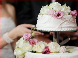Торт на свадьбу из нескольких ярусов