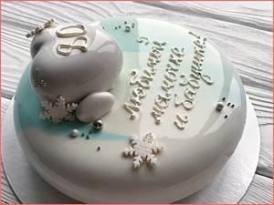 Торт муссовый на день рождение маме и бабушки
