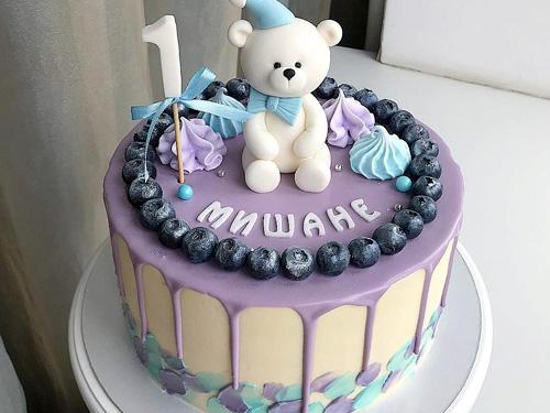 Торт мальчику на день рождение 1 годик