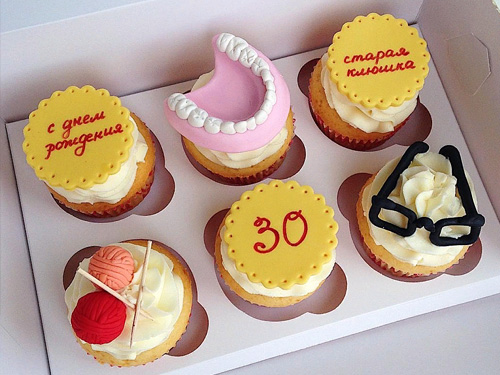 Смешные капкейки на день рождения стоматолога