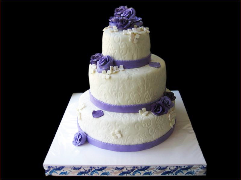 Многоярусный тортик