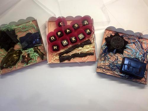Наборы шоколадок для подарка