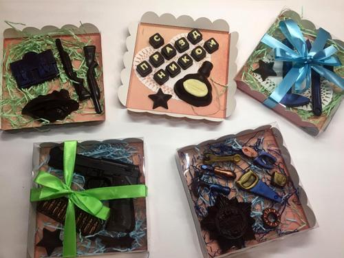 Различные наборы из шоколада